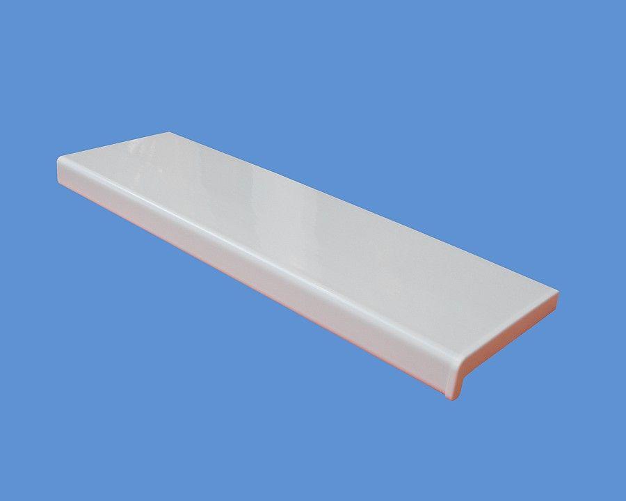 350 mm széles kamrás belső műanyag ablakkönyöklő anyagában színezett fehér