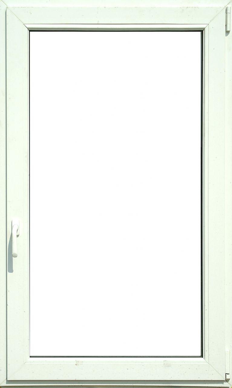 60x150 cm egyszárnyú bukó nyíló fehér műanyag ablak