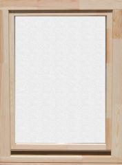 60x90 cm egyszárnyú bukó nyíló lazúr festett borovi fenyő ablak