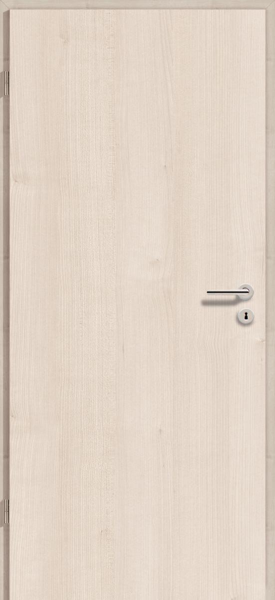 90x210 cm egyszárnyú dekorfóliás beltéri ajtó tele, szín: Juhar Majola DE75, 10-12 cm vtg. falba utólagszerelhető tokkal
