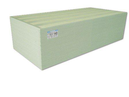 Gipszkarton 12,5 mm vtg impregnált építőlemez tábla: 1250x2000 mm tábla / 2,5 m2