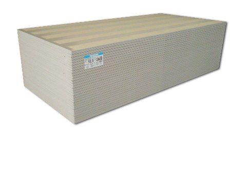 Gipszkarton 12,5 mm vtg normál építőlemez tábla: 1250x2000 mm tábla / 2,5 m2