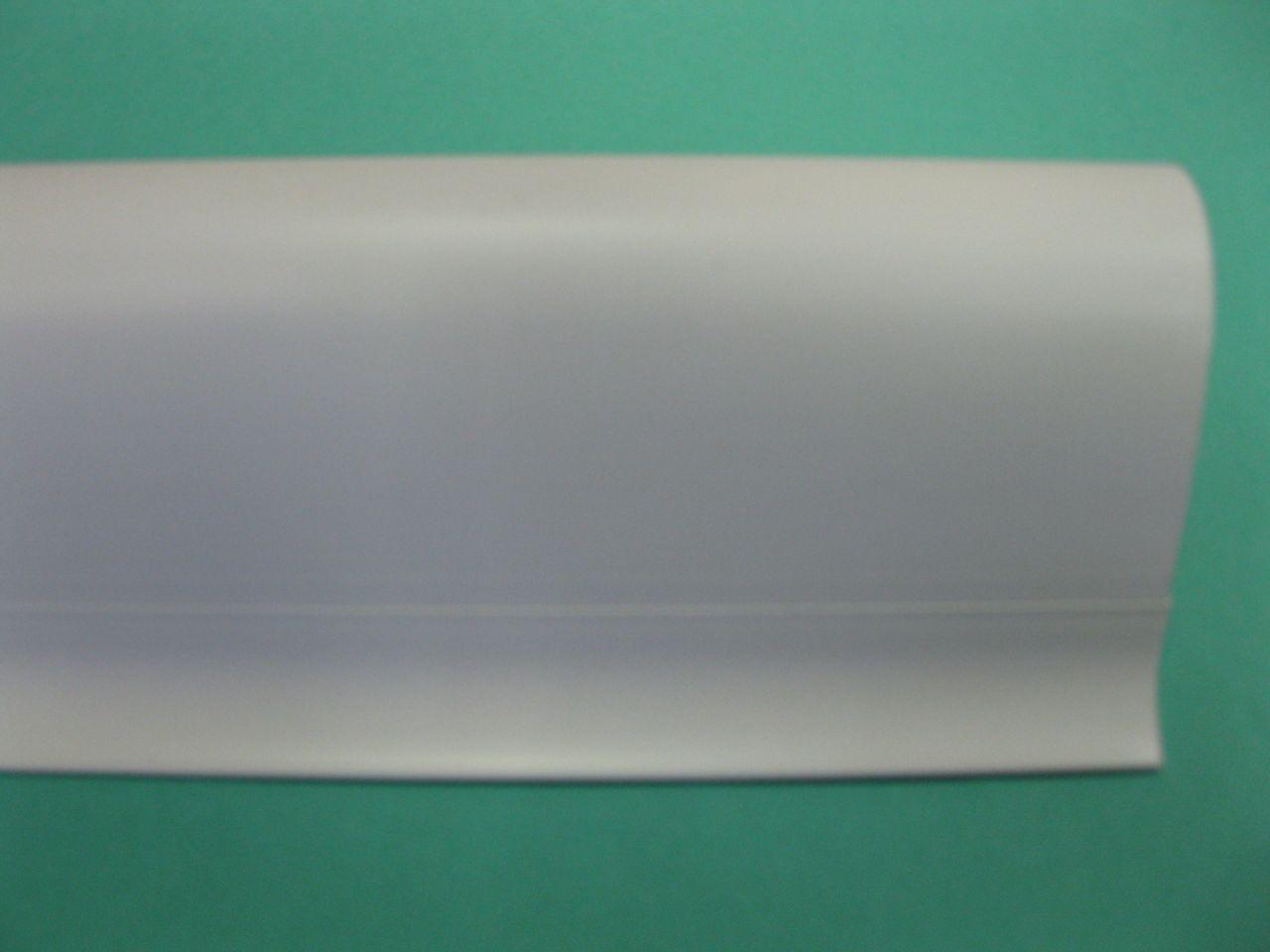 SALAG NG szegélyléc, fehér, gumis szegéllyel NGF 56mm, hossz: 2,50m