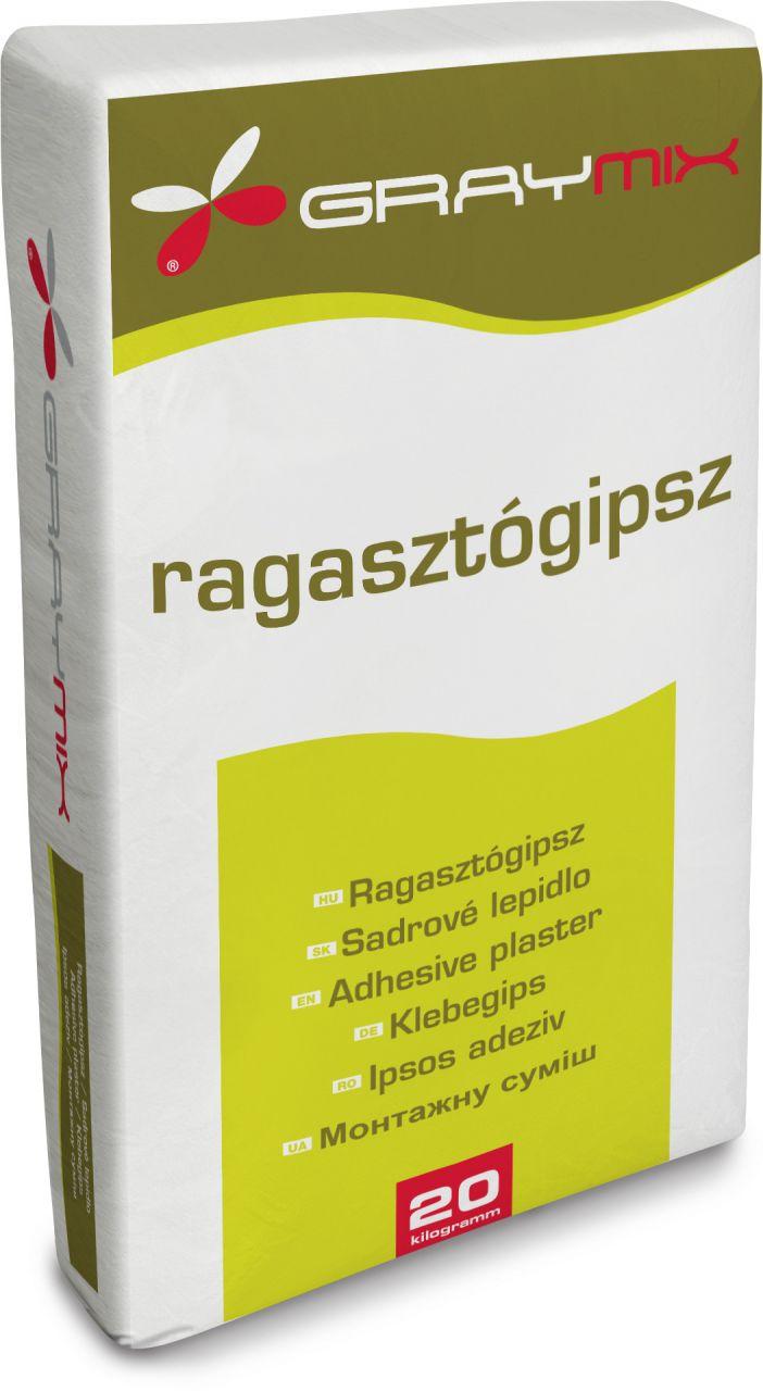 Graymix gipszkarton ragasztógipsz 20 kg/zsák
