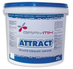 Graymix Attract (GD) 1,5 mm durva lábazati vakolat 42 színben 20 kg/vödör