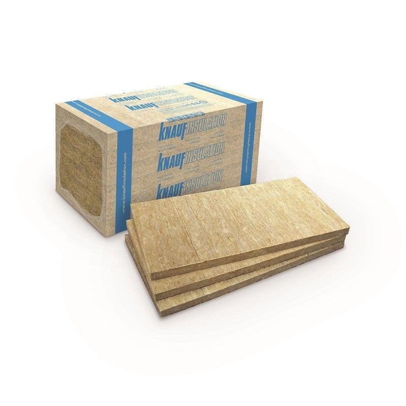 Knauf FKD-RS vakolható kőzetgyapot lemez 4 cm-es (3,6 m2/bála)
